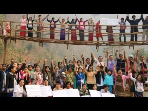 Human Chains for Fair Trade and Planet - 2016 World Fair Trade Day Campaign