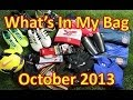 What's In My Soccer Bag - October 2013