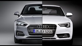 2017 Audi A5 Coupe vs. 2016 Audi A5 Coupe