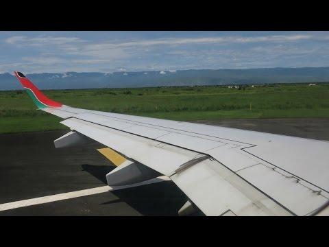 Kenya Airways E190AR Flight Experience: KQ448 Bujumbura to Nairobi