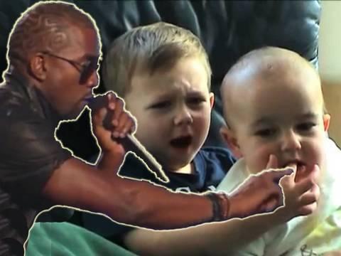 Kanye and Charlie Autotuned!