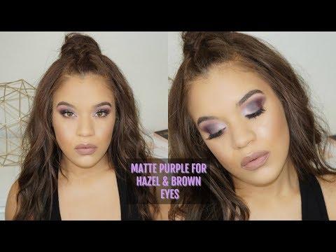 Matte Purple Smokey Eye  Allis Peguero