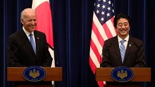 Joint Statement to the Press with Vice President (Joe Biden) and Prime Minister Shinzo Abe  12/3/13