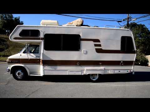 Lazy Daze Motorhome RV Mobile Camper 1984 Chevrolet G30 Van Class C 350 1 Owner 29K Miles