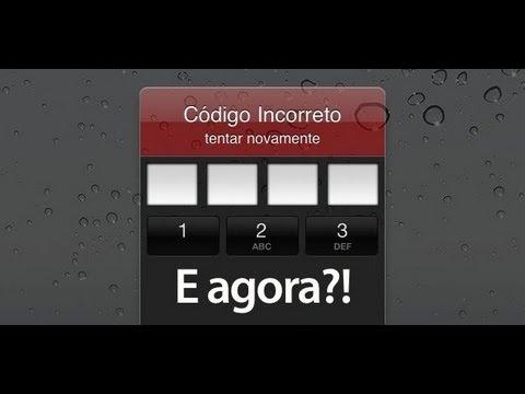 Quebrar senha do Iphone 4S