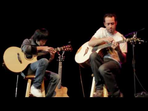 (Triple Door 1.27.2010) Canon - Trace Bundy and Sungha Jung