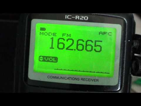 Icom IC R20 tutorial on IC Recorder