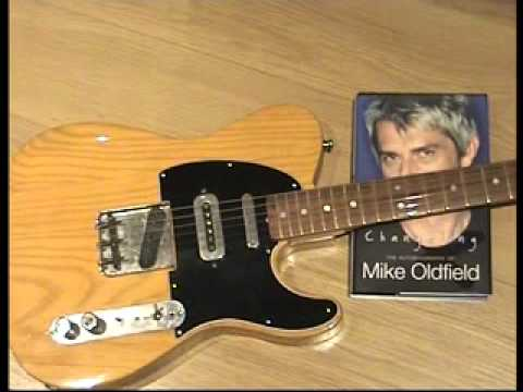 Mike Oldfield and Marc Bolan's Fender Telecaster used to record Tubular Bells