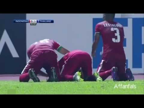 Indonesia vs Thailand (2-1) Extended Highlights (English Commentary)- AFF Cup 2016 Final Leg-1