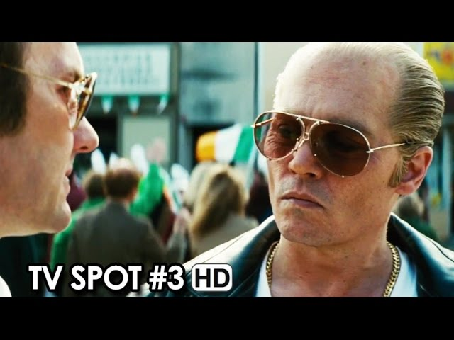 BLACK MASS ft. Johnny Depp TV Spot #3 (2015) - Crime Thriller [HD]