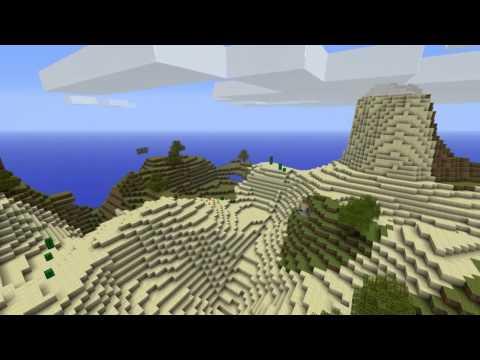 Minecraft - Phoenix Terrain Mod | Belles montagnes