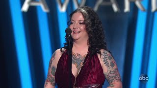 Ashley McBryde Wins New Artist of the Year at CMA Awards 2019 - The CMA Awards