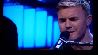 """Gary Barlow - """"Dying Inside"""" Live on BBC Radio 2 'In Concert' - 11/12/13"""