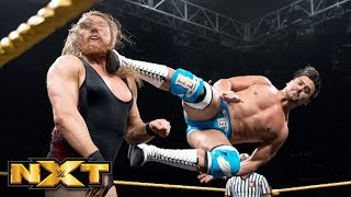 Pete Dunne vs. Angel Garza: WWE NXT, Sept. 11, 2019