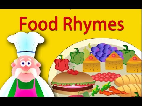 Food Rhymes Collection | Nursery Rhymes For Children video