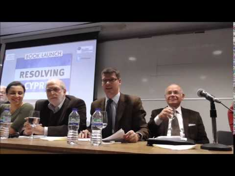 Resolving Cyprus - New Approaches to Conflict Resolution - Booklaunch at LSE