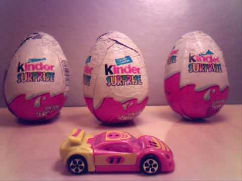 It's a Kinder Magic - Kinder Egg Stop Motion Animation