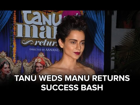 EXCLUSIVE! The Tanu Weds Manu Returns Success Bash With Cast & Crew!