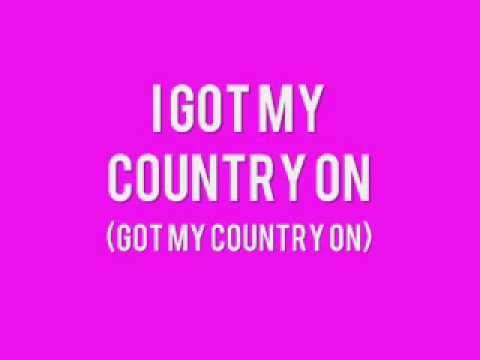 [On Screen Lyrics] Chris Cagle   Got My Country On