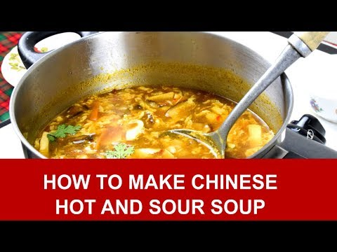 Hot and sour soup 酸辣湯 – How to make in 4 simple steps