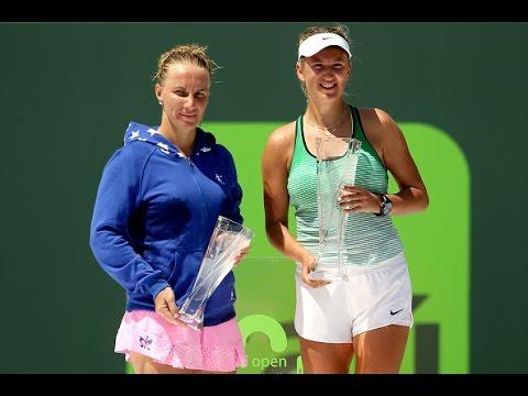 2016 Miami Open Final WTA Highlights | Victoria Azarenka vs Svetlana Kuznetsova