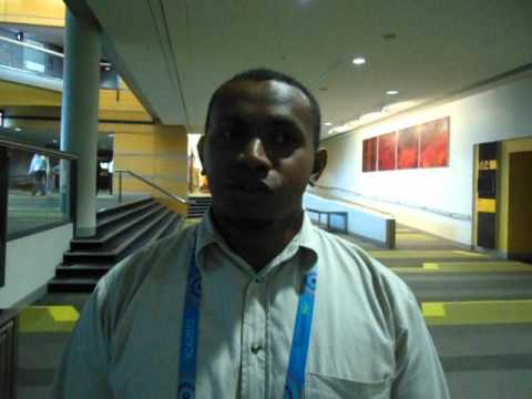 Interview with Bernard Rizu, Record Manager, National Archives of Solomon Islands. By Eric Boamah