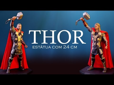 UNBOX: Thor 1/10 The Dark World - Iron Studios / Fantoy - Estátua