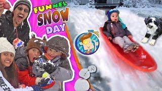 SNOW MUCH FUN! DON