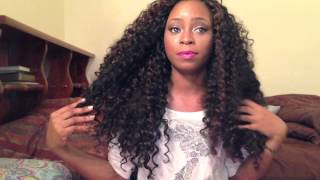 Hair Review- Crochet braids with freetress gogo curl