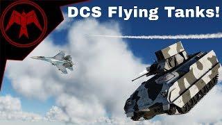 DCS 2.5 Flying Tank G-A2A kill