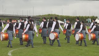 Boghall & Bathgate Caledonia's set at the British Pipe Band Championships 2019