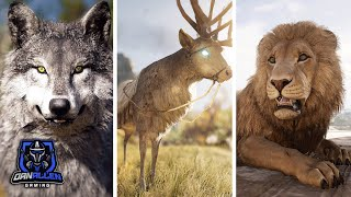 Assassin's Creed Odyssey - Killing All 8 Legendary Animals ( Daughters of Artemis Questline )