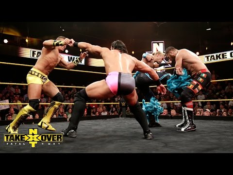 Fatal 4-Way NXT Championship Match: NXT TakeOver: Fatal 4-Way, Sept. 11, 2014