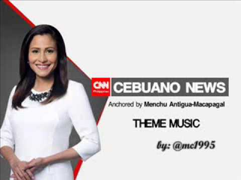 THEME MUSIC - CNN Philippines Cebuano News [March 16, 2015-Present]
