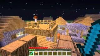 Minecraft выживание в плоском мире №3