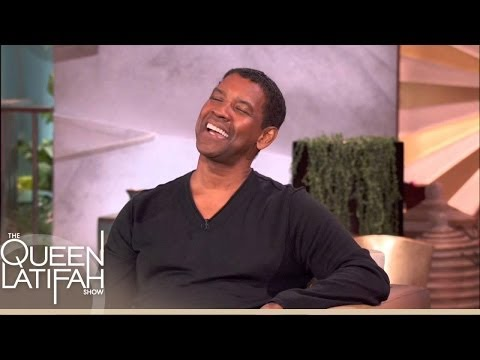 Denzel Does a Mean Jay-Z Impression | The Queen Latifah Show