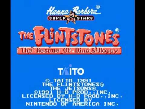 Flintstones, The - The Rescue of Dino & Hoppy (NES) Music - Stage Theme 01