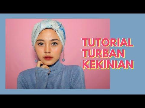 Tutorial Hijab Sehari2 dgn 1 Jarum Pentul -  Nadhila QP - YouTube