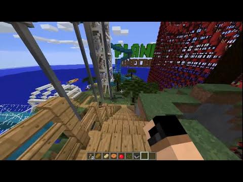 De Vacaciones en Minecraft 1.8 - Olann Island (Descarga Mapa)
