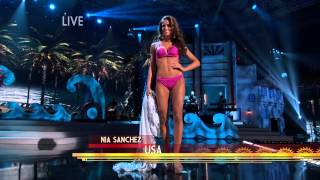 2015 Miss Universe Swimsuit Competition HD 1080p