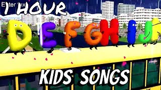ABC Alphabets and Many Many More Songs | Alphabets Song | Kids Songs | Nursery Rhymes for Baby