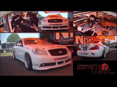 M56 Infiniti Drifting- Chris Forsberg Ride along with Import2race