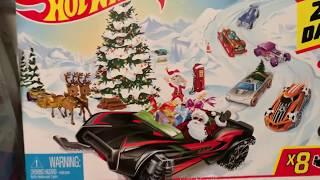 2019 Hot Wheels Advent Calendar