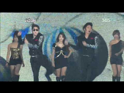 2PM&KARA - Every little step (투피엠&카라) @SBS MUSIC FESTIVAL 가요대전 20111229