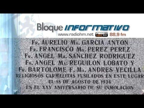 Vídeo Noticia: Ayuntamiento de Madrid repondrá la placa conmemorativa de ocho mártires carmelitas