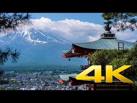 Chureito Pagoda - Yamanashi - 忠霊塔 - 4K Ultra HD
