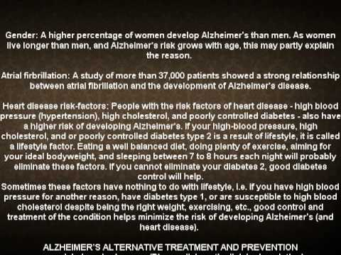 Alzheimer disease causes and prevention (NEW)