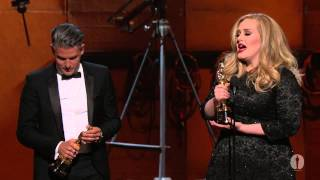"Download Lagu ""Skyfall"" Wins Original Song: 2013 Oscars Gratis STAFABAND"