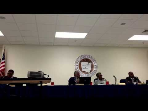 Warren County (NC) Commissioners meeting 3-2-2015