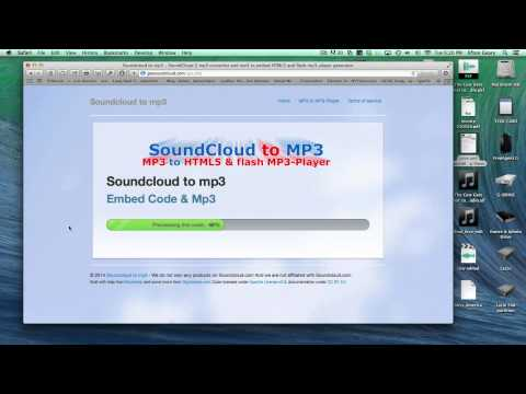 How to get the soundcloud .mp3 link to use in any online mp3 player